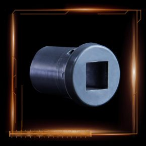 """Longer Snap-in bushing for 3/8"""" bar used with lined duct"""